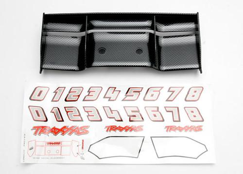 TRAXXAS Revo Wing (Exo-Carbon Finish) (TRA5446G)