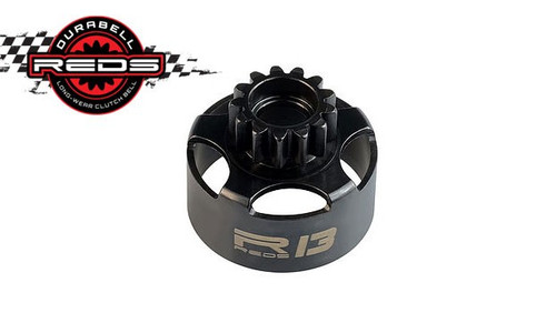 REDS Durabell 1/8 Off-Road Vented Clutch Bell (13T) (MUCN0001)