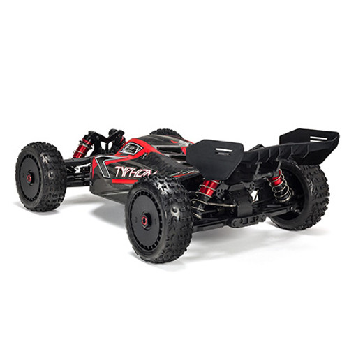 Arrma Typhon 6S BLX Brushless RTR 1/8 4WD Buggy (Red/Black) w/STX2 2.4GHz Radio
