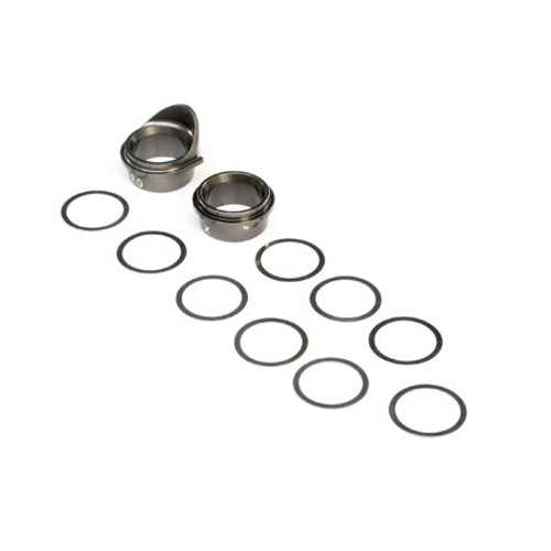 Team Losi Racing 8IGHT-X Aluminum Rear Gearbox Bearing Insert Set (TLR242026)