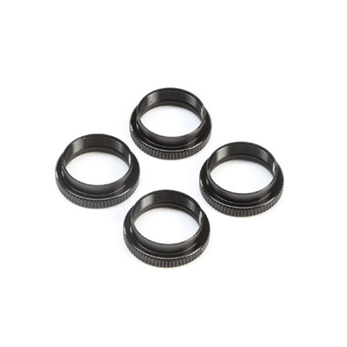 Team Losi Racing 16mm 8IGHT-X Shock Nuts & O-Ring Set (4) (TLR243045)