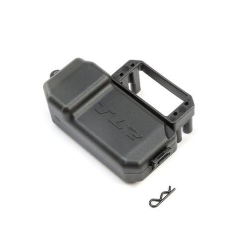 Team Losi Racing 8IGHT-X Servo Mount & Battery Box Set (TLR241035)