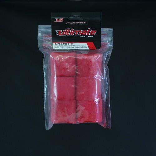 Ultimate Racing Pre-Oiled Foam Air Filter (MUGEN MBX6/7/7R/8) (6 PCS) (UR0521-6)