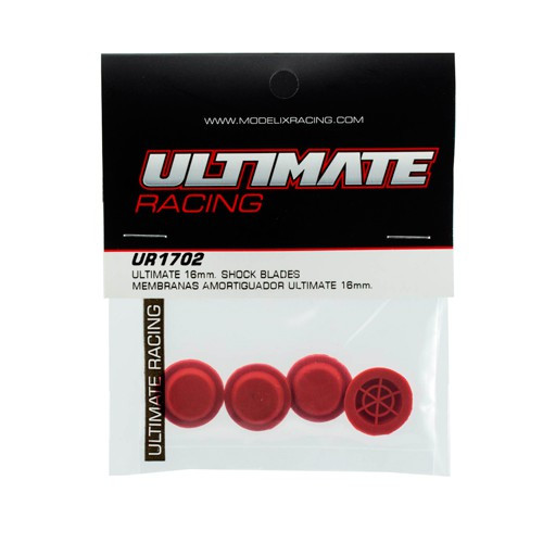 Ultimate Racing 16mm Shock Bladders (4) (UR1702)