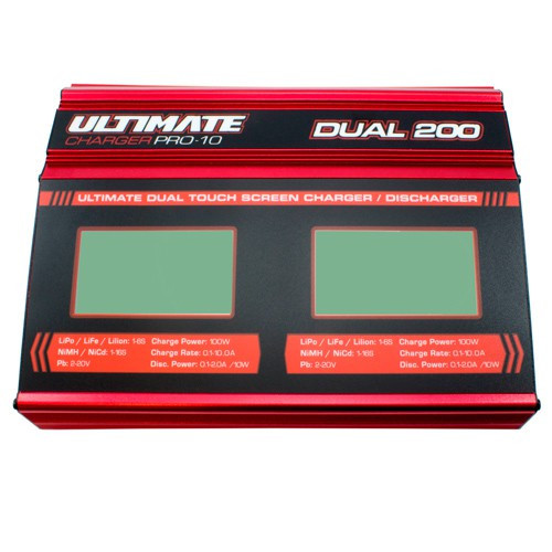 Ultimate Racing Pro 10 Dual Touch Battery Charger (UR4202)