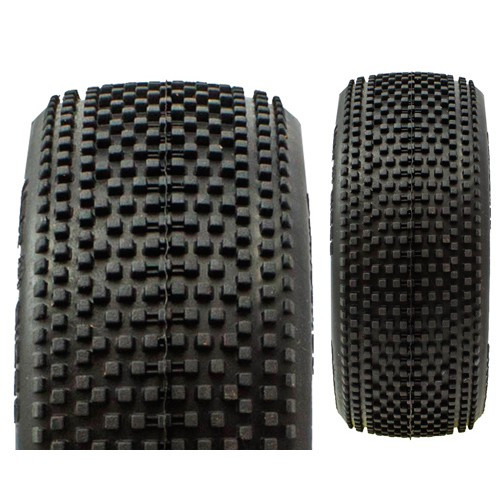 ProCircuit Hot Dices Buggy Tires (P1) Super Soft - Pre-Mounted (Yellow) (2) (PCY1005-P1)
