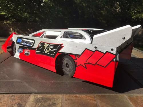 MR Kustoms HurriKane 1/10 DIRT Late Model Body (.030)