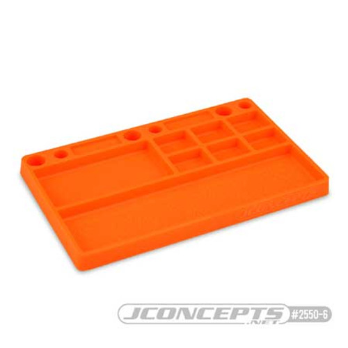 JConcepts Parts Tray (Orange) (JCO2550-6)