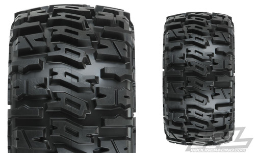 "PROLINE Trencher Low Profile 2.8"" Tires w/Raid Rear Wheels (2) (Black) (M2) w/12mm Removable Hex"