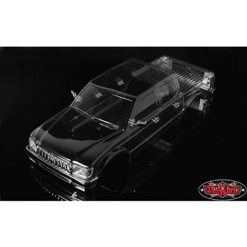"RC4WD 2001 Toyota Tacoma 4 Door Lexan Crawler Body (Clear) (313mm/12.3"") (Z-B0169)"