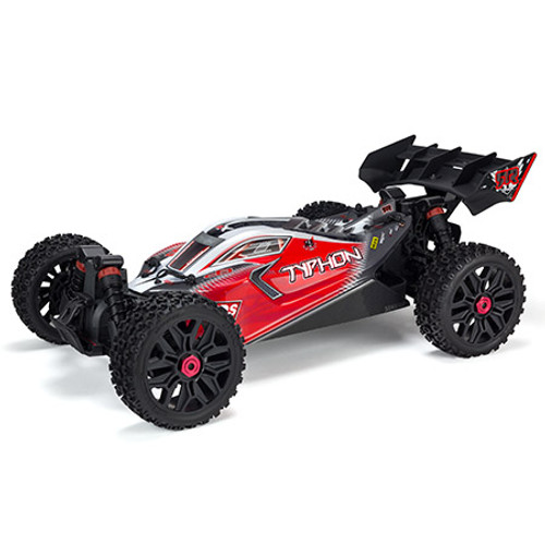 Arrma Typhon 3S BLX Brushless RTR 1/8 4WD Buggy (Red) w/Spektrum 2.4GHz Radio