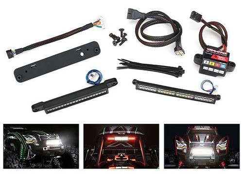 Traxxas Complete LED Light Kit with HV Power Amplifier (TRA7885)