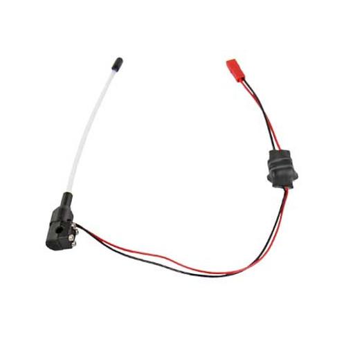PITBULL RC Night Saber LED Lights (Whip Antennas) (Orange) (PTBPB910OR)