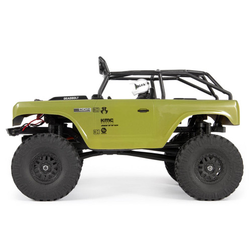 Axial 1/24 SCX24 Deadbolt RTR Scale Mini Crawler (Green) w/2.4GHz Radio
