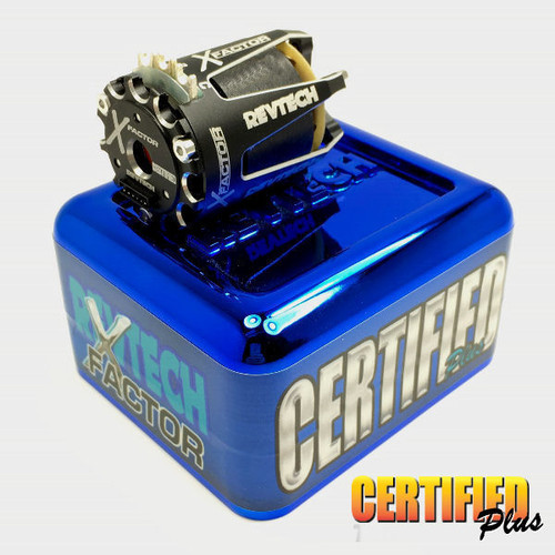 Trinity X-FACTOR 13.5T Spec Class Brushless Motor - Certified Plus (REV1101XO)