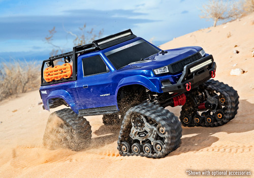 Traxxas TRX-4 Traxx All Terrain Track Set (4) (TRA8880) on sand RC racing