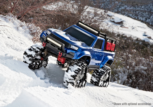 RC racing Traxxas TRX-4 Traxx All Terrain Track Set (4) (TRA8880) snow treads