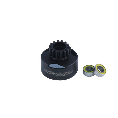 Ultimate Racing Ventilated Z14 Clutch Bell w/Bearings (UR0662)