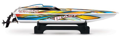"Traxxas Blast 24"" High Performance RTR Race Boat w/TQ 2.4GHz Radio, Battery & AC Charger (Orange )"