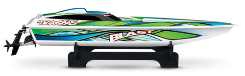 "Traxxas Blast 24"" High Performance RTR Race Boat w/TQ 2.4GHz Radio, Battery & AC Charger (Green)"