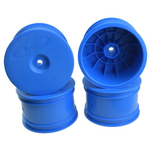 DE Racing Speedline 2.2 1/10 Buggy Rear Wheels (4) (B6/B74/22/22-4) (Blue) (DER-SB4-ARC)