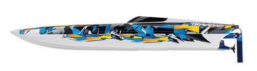 "Traxxas DCB M41 Widebody 40"" Catamaran High Performance Race Boat w/TQi 2.4GHz Radio & TSM - Orange"