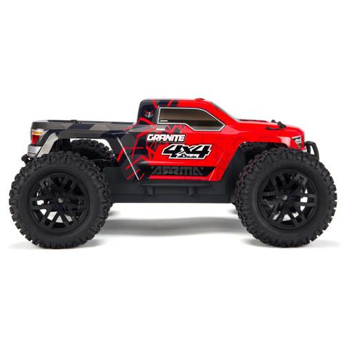 Arrma Granite 4x4 Mega Monster Truck RTR (Red/Black) w/Spektrum 2.4GHz Radio