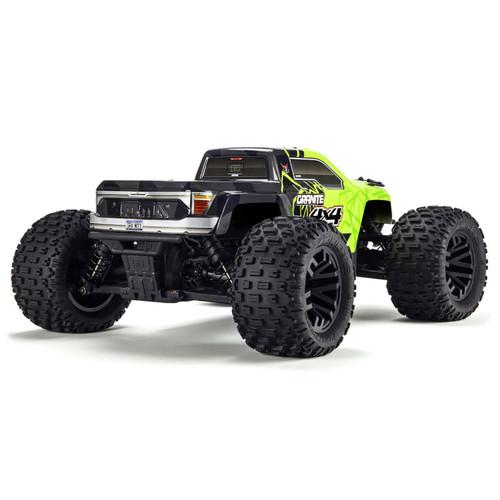 Arrma Granite 4x4 Mega Monster Truck RTR (Green/Black) w/Spektrum 2.4GHz Radio