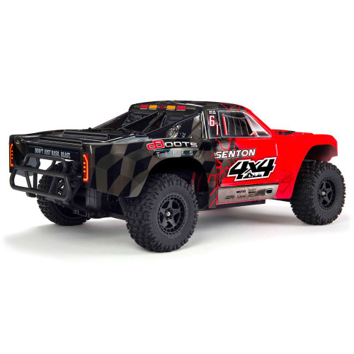 Arrma Senton 4x4 Mega 1/10 Short Course Truck RTR (Red/Black) w/Spektrum 2.4GHz Radio