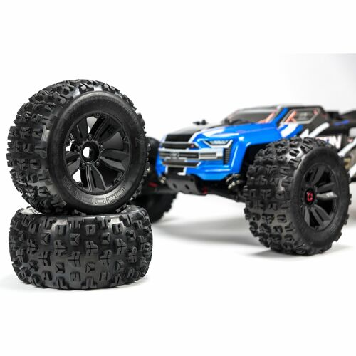 Arrma Kraton 6S BLX Brushless RTR 1/8 4WD Monster Truck (Blue) (2019 V4) w/STX2 2.4GHz Radio
