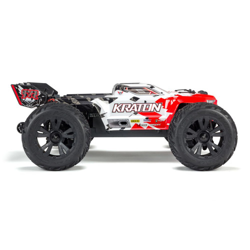 Arrma Kraton 4S BLX RTR 1/10 4WD Brushless Monster Truck (Red) w/STX2 2.4GHz Radio