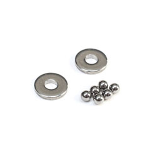 Team Losi Racing Tungesten Carbide Ball Differential Thrust Balls & Washer Set (TLR232087)