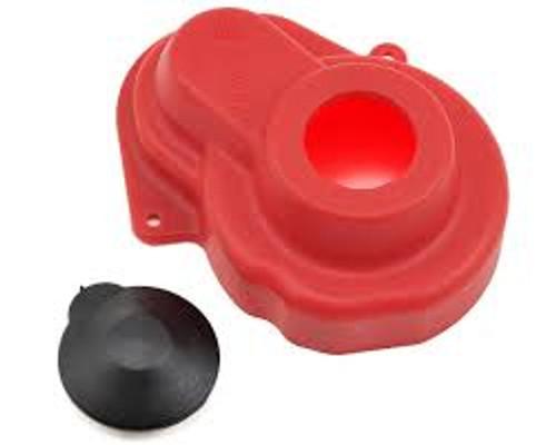 RPM Traxxas Gear Cover (Red) (XL-5/VXL) (RPM80529)