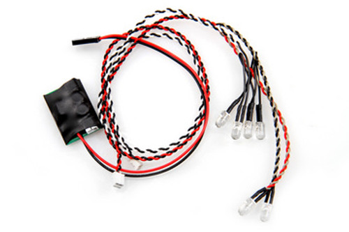 Axial Simple LED Controller w/LED lights (4 white and 2 red) (AX24257)