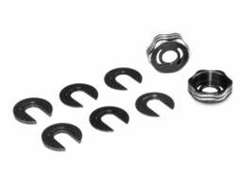 JConcepts RC8B3 | RC8B3E | RC8T3 SUSPENSION ARM CAP SET (JCO2506-2)