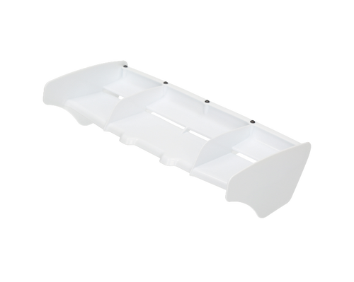 HB Racing 1/8 Rear Plastic Wing (White) (HBS204252)