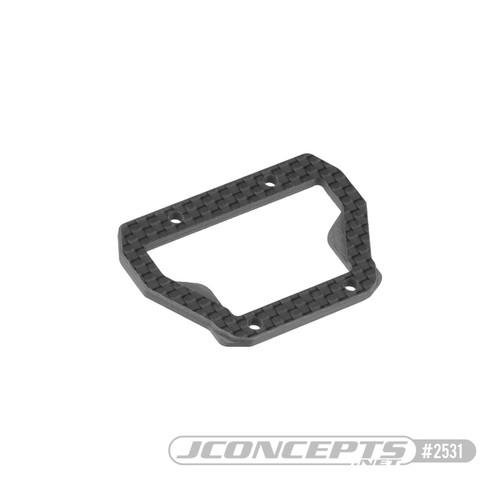 JConcepts RC10 B74 Carbon Fiber Center Bulkhead Top Plate (JCO2531)