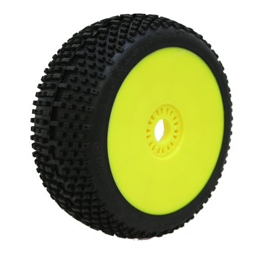 ProCircuit SWEET SHOT Buggy Tires Pre-Mounted (Yellow) (Soft Compound) (2PCS.) (PCX1003-YG)