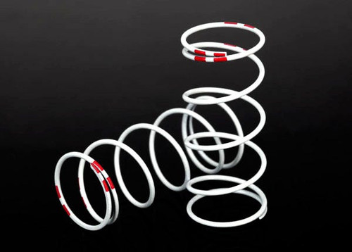 Traxxas Progressive Rate Long GTR Shock Springs (Pink - 0.810 Rate) (2) (TRA7445)