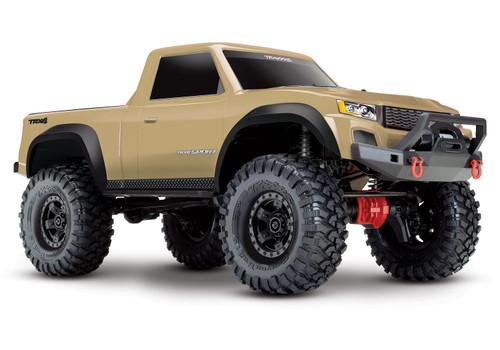 Traxxas TRX-4 Sport 1/10 Scale Trail Rock Crawler (Tan) w/XL-5 ESC & TQi 2.4GHz Radio