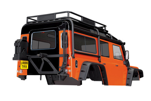 Traxxas TRX-4  Land Rover Defender Adventure Edition Body (Orange)