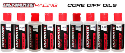 Ultimate Racing Core Diff Oil Set (3k-20k) (9pcs) (UR30020000)