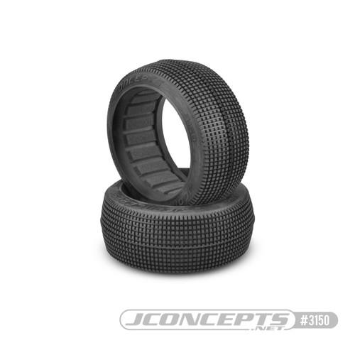 JConcepts Blockers 1/8 Buggy Tires (2) (Green) (Super Soft) (JCO3150-02)