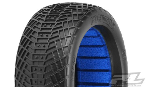 Pro-Line Positron 1/8 Buggy Tires w/Closed Cell Inserts (2) (S3) (PRO9061-203)