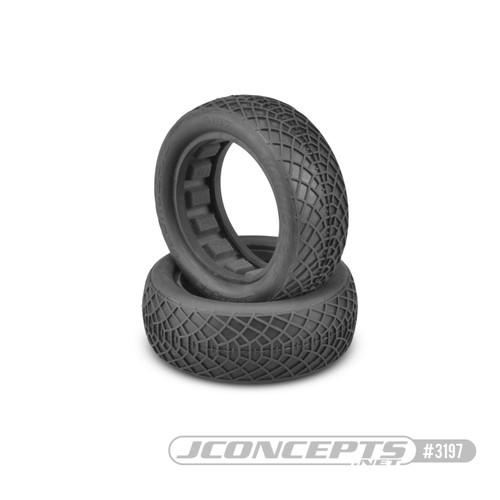 "JConcepts Ellipse 2.2"" Front 1/10 Buggy 2wd Buggy Tires (2) (Silver) (JCO3197-06)"