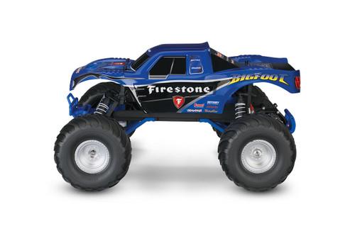 "Traxxas ""Bigfoot"" 1/10 RTR Monster Truck (Firestone) w/XL-5 ESC, TQ 2.4GHz Radio, Battery & DC Charger"