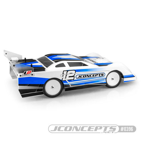 "JConcepts L8 Night - 10"" Wide Late Model Body (JCO0396)"