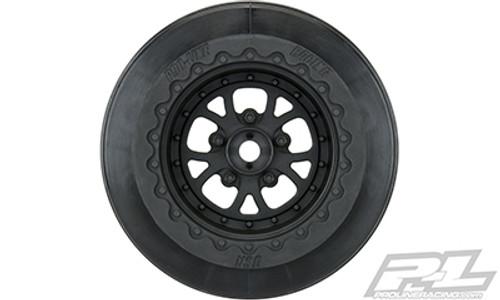 Pro-Line Pomona Drag Spec Rear Drag Racing Wheels (2) (PRO2776-03)
