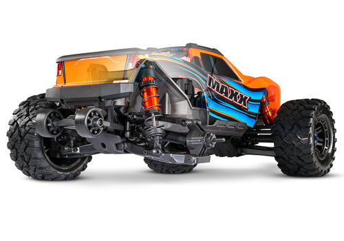 Traxxas Maxx 1/10 Scale 4WD Brushless Electric Monster Truck (4s) (RedX)
