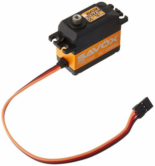 SAVOX SC-1268SG High Torque Steel Gear Digital Servo (High Voltage) (SAVSC1268SG)